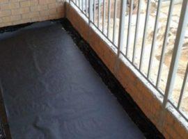 Гидроизоляция балкона, лоджии